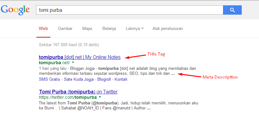 dasar on page seo