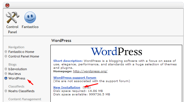 cara menginstall wordpress