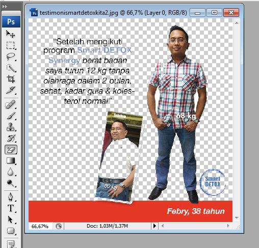 cara menghapus background gambar