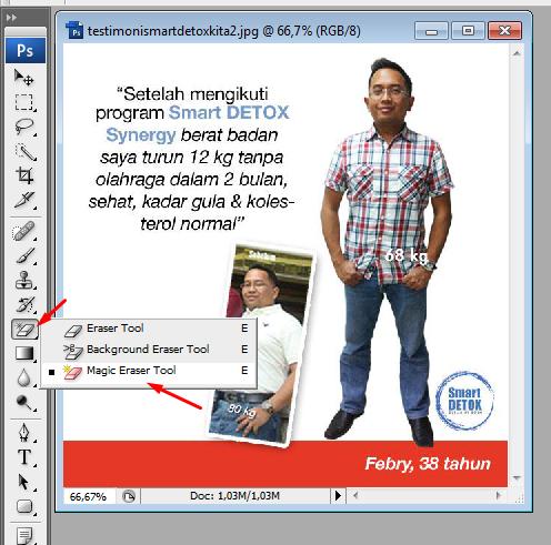 cara menghilangkan background gambar