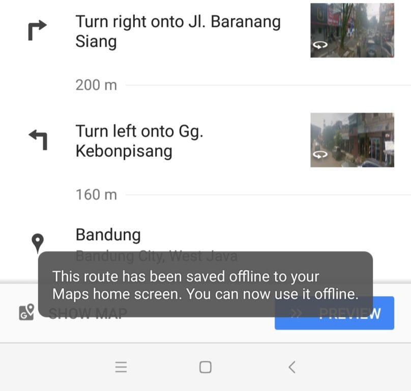 cara download peta Google Maps online