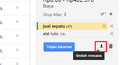 download keyword