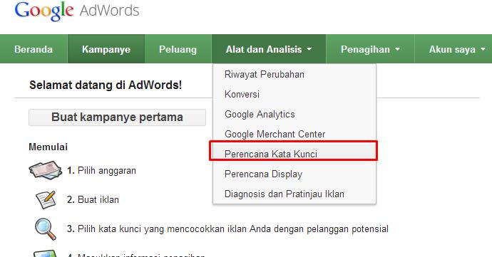 cara melakukan riset keyword