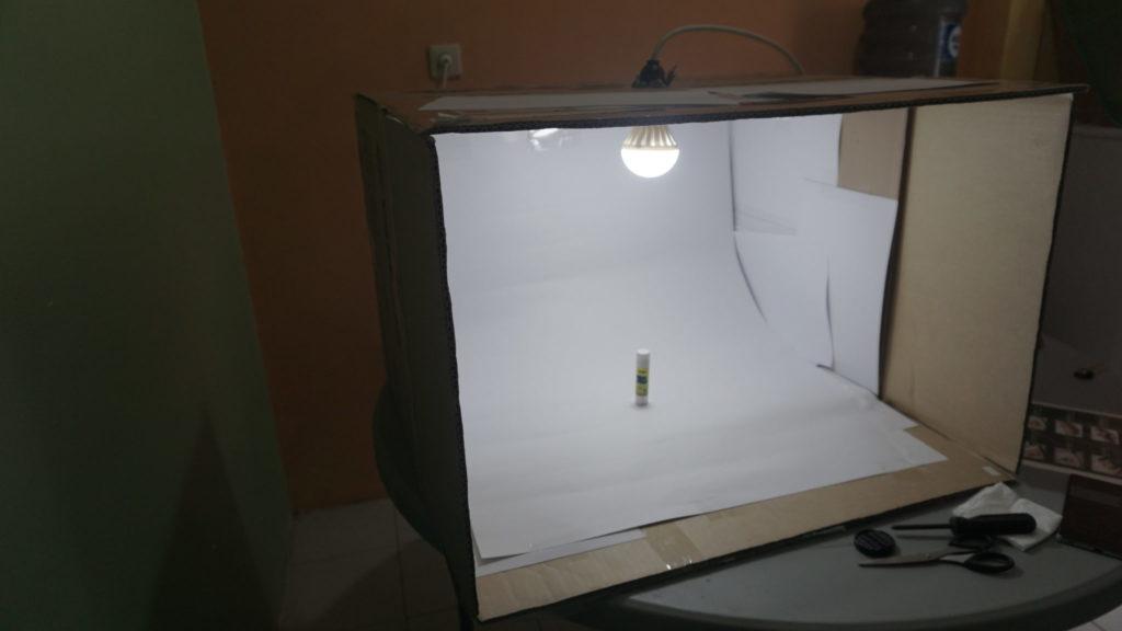 foto studio mini untuk produk